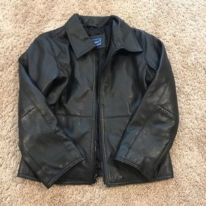 ROTHSCHILD black leather jacket
